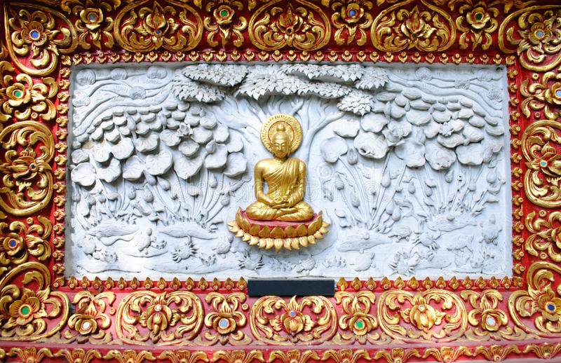 Lord Of Buddha Enlightenment Stock Image