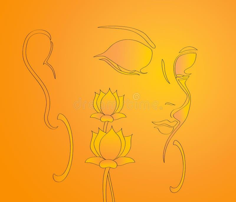Lord buddha Illustration