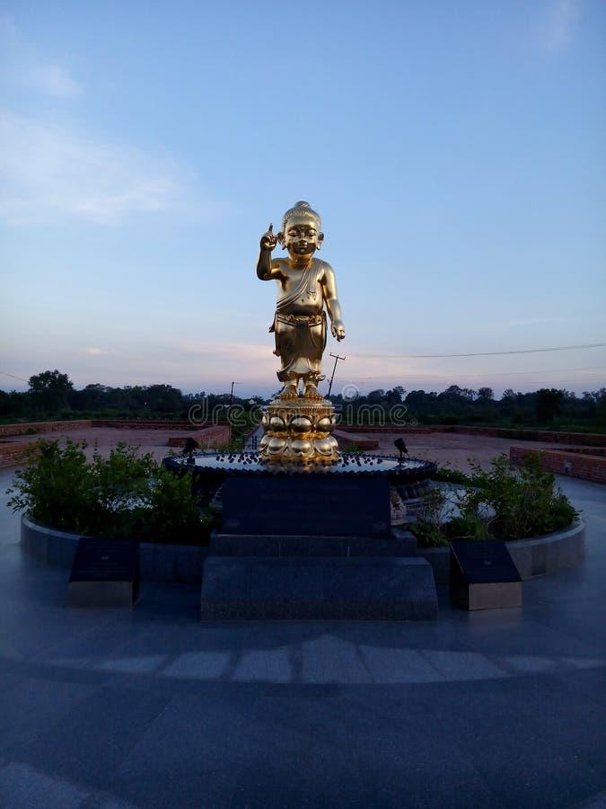 Lord Buddha in lumbini nepal royalty free stock photos