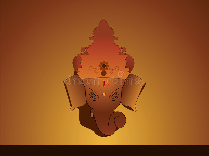 Download Lord Ganesh stock vector. Image of illustration, festival - 5693335