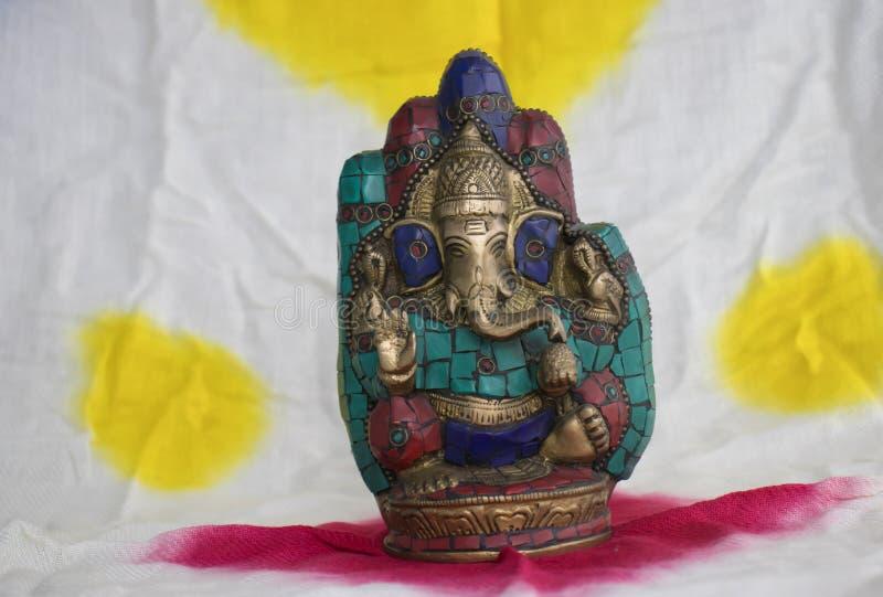 Lord Ganesh Ganapati, Vinayaka, Hindoese God royalty-vrije stock afbeeldingen