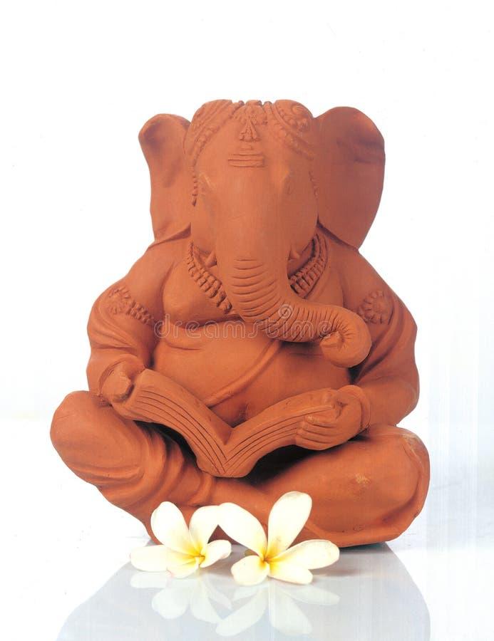 Lord Ganesh - Gott des guten Glücks stockfoto