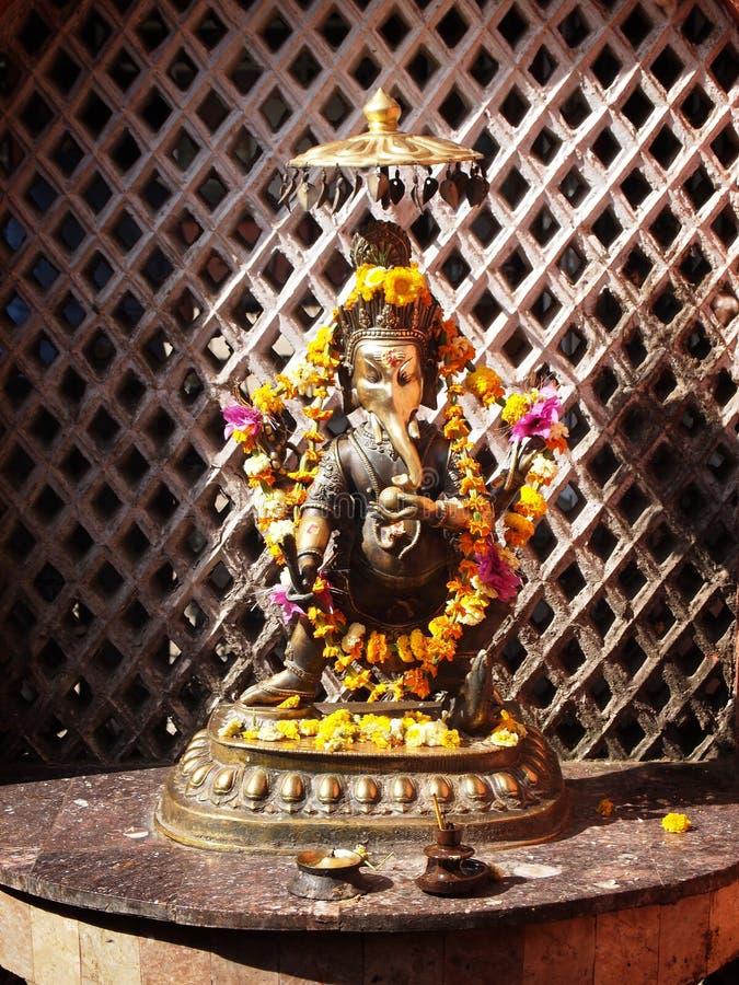 Lord Ganesh, hindu god stock photos