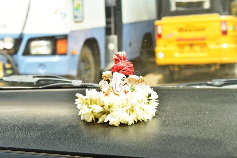 Lord Ganesh Idol royaltyfri foto