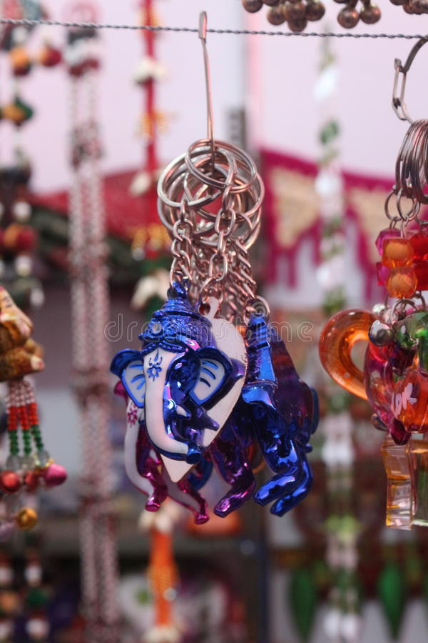 Lord Ganesh keychain royalty free stock photography