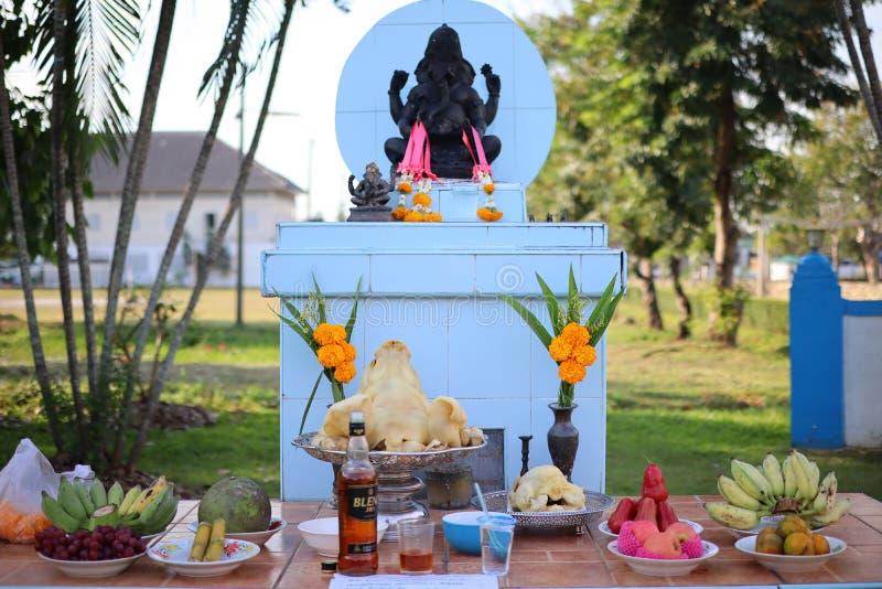 Lord Ganesh, le dieu respecté de Dieu d'Indiens de succès photo libre de droits