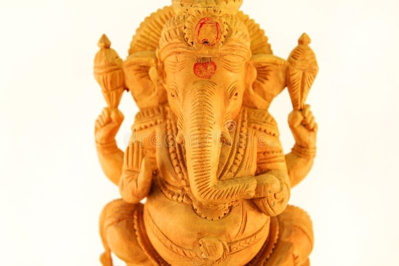 Lord Ganesh/statyett Sri Ganesha/indisk religionstaty royaltyfria foton