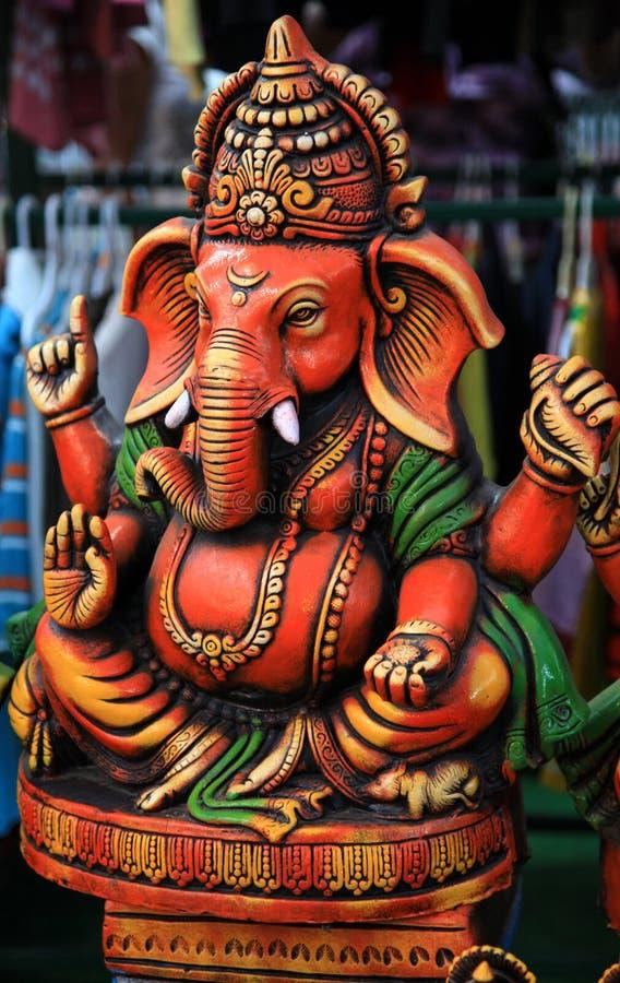 Lord Ganesha royalty-vrije stock afbeeldingen