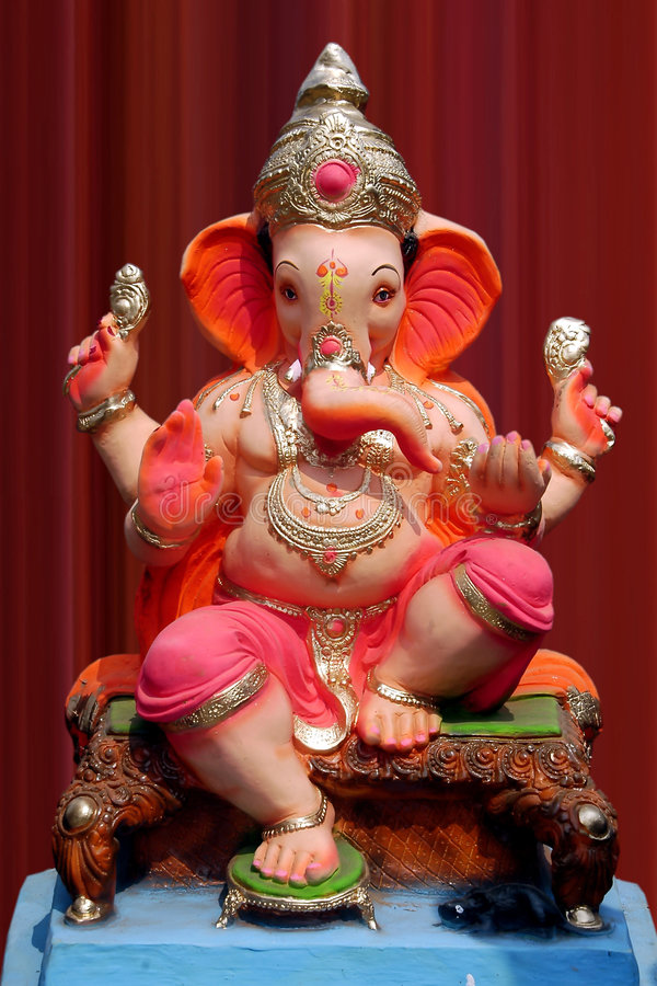 Lord Ganesha royalty free stock image