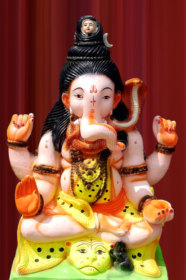 Free Lord Ganesha Royalty Free Stock Photos - 6468018