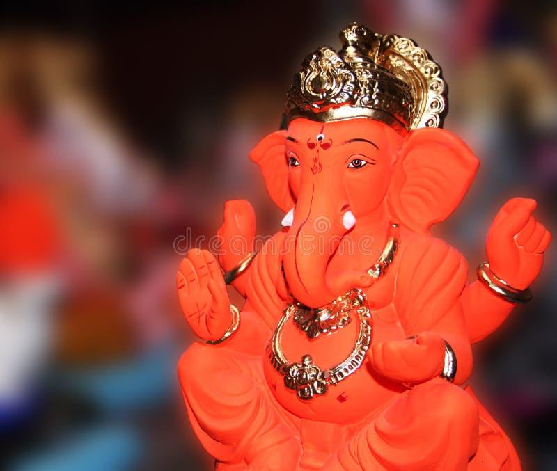 Lord Ganesha arkivbild