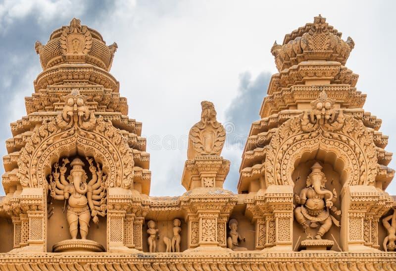 Lord Ganesha au temple de Srikanteshwara dans Ganjangud, Inde images stock