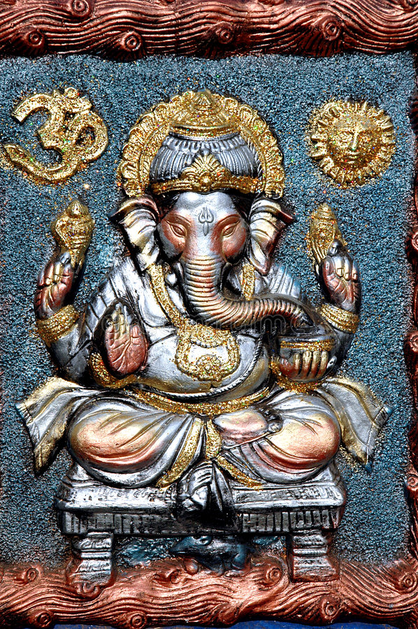 Free Lord Ganesha Clay Idol Royalty Free Stock Image - 7161146