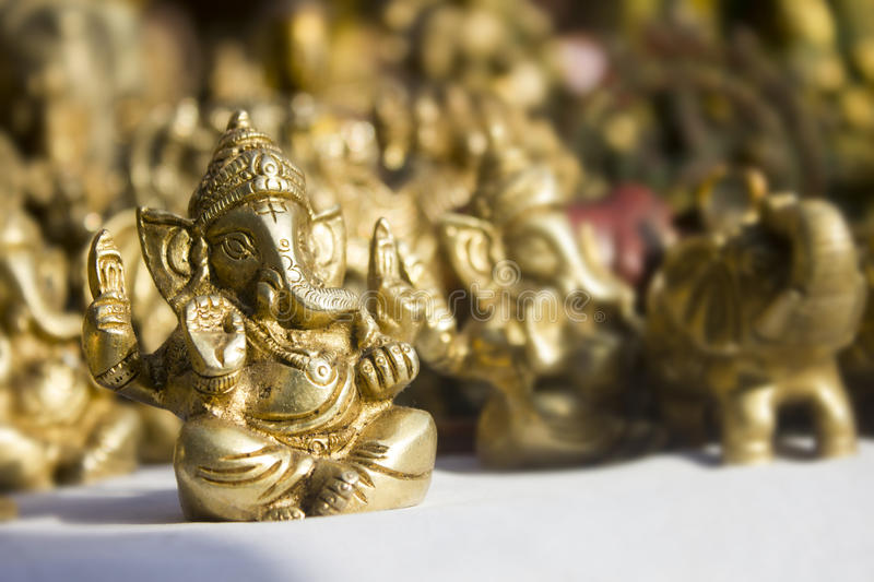 Lord ganesha in dilli haat stock images