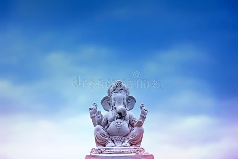 Lord Ganesha, festival di Ganesha fotografia stock libera da diritti
