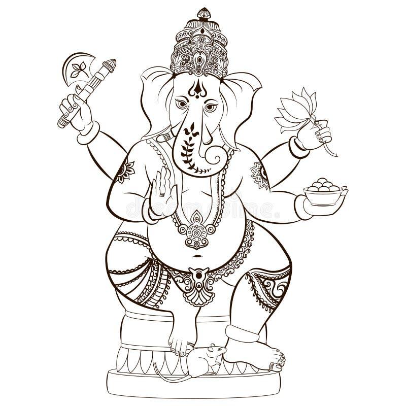 Lord Ganesha hindú libre illustration
