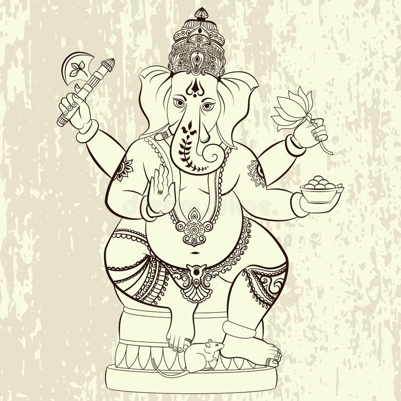 Lord Ganesha hindú libre illustration