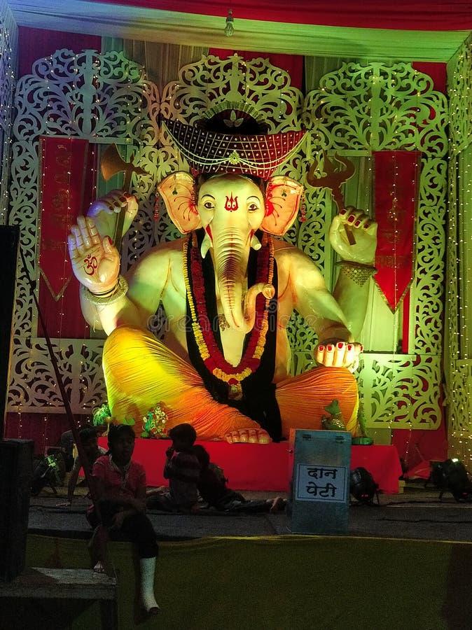 Lord Ganesha THE HINDU GOD royalty free stock images