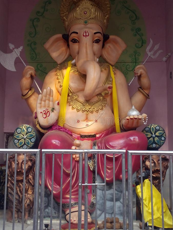 Lord Ganesha Image imagens de stock