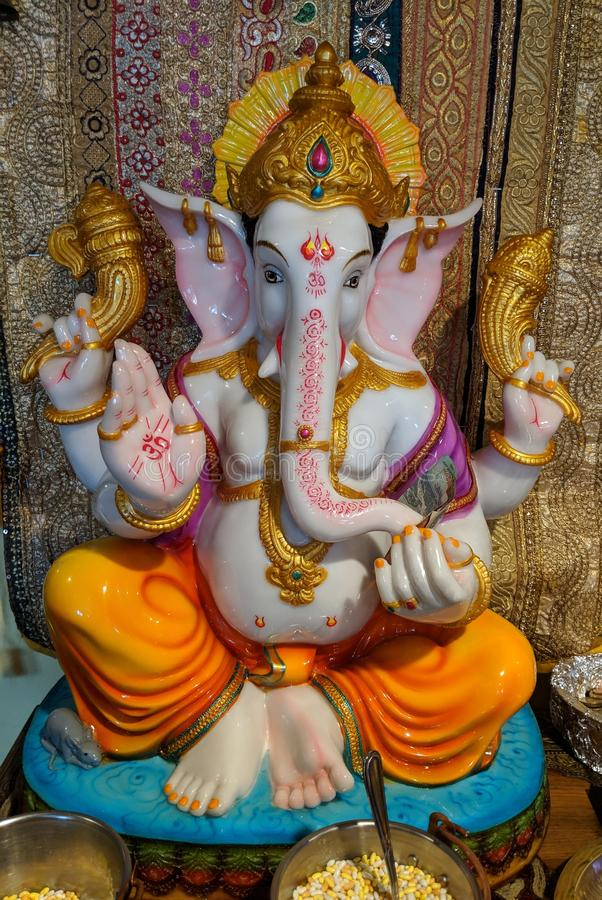 Lord Ganesha stock images