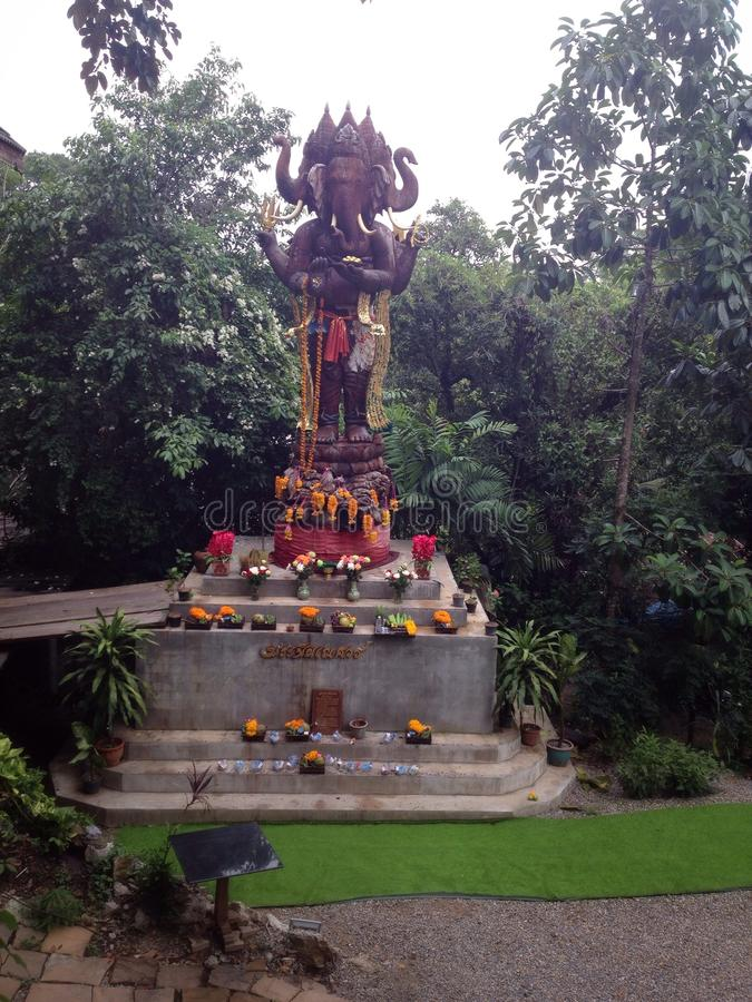 Lord Ganesha o Ganesa foto de archivo libre de regalías
