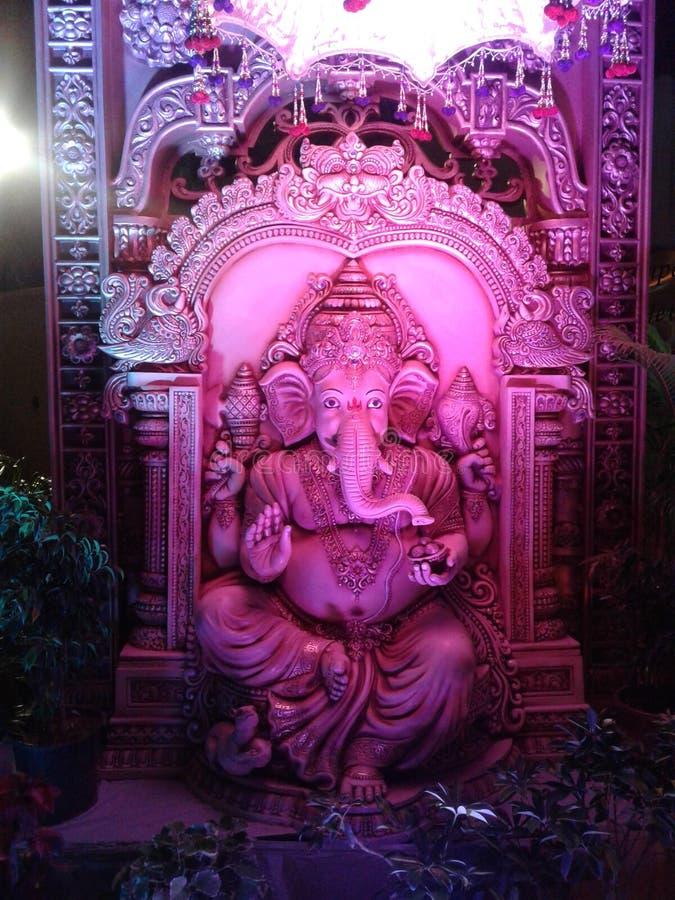 Lord Ganesha statue royalty free stock photos