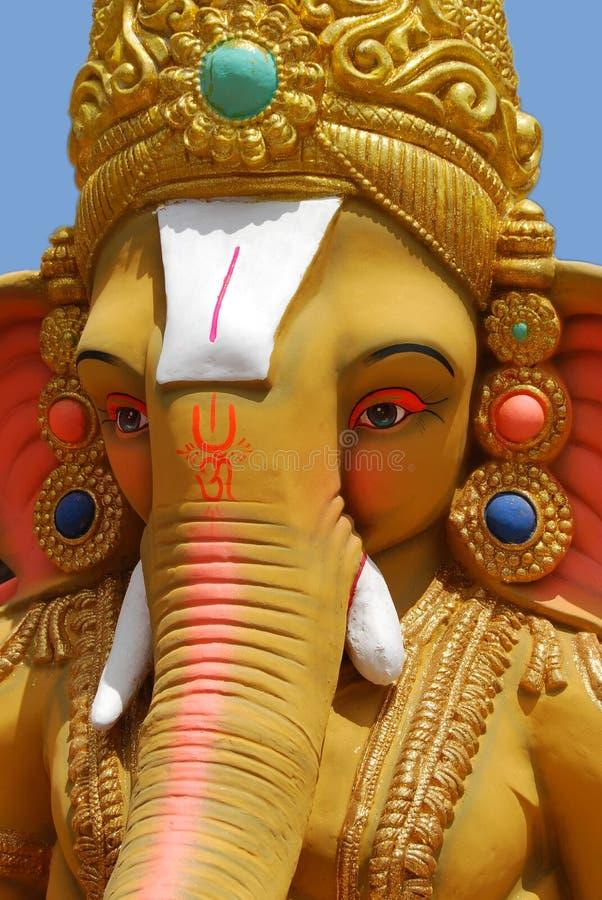 Lord Ganesha van Hindus stock foto's