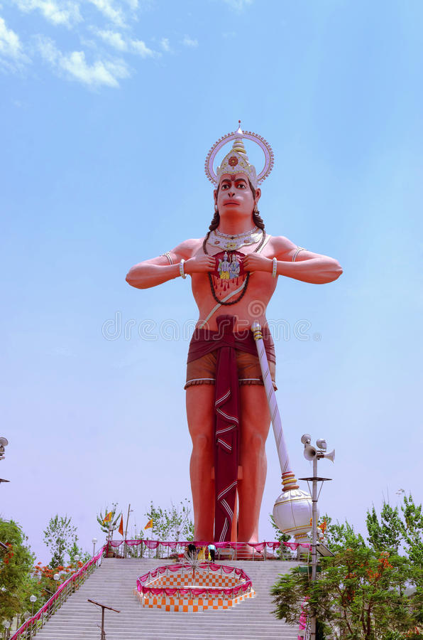 Lord hanuman lizenzfreies stockbild