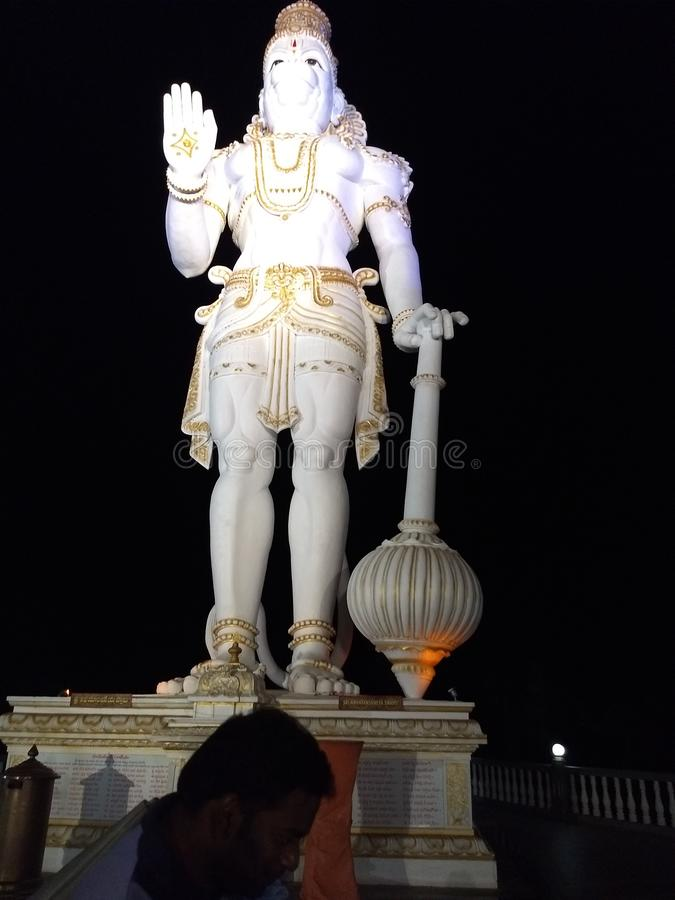 Lord Hanuman-Statue lizenzfreie stockfotos