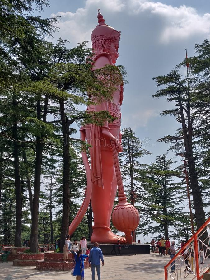 Lord Hanumans lizenzfreies stockfoto