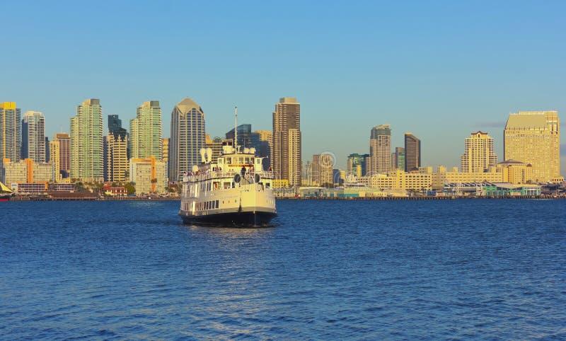 Lord Hornblower Dinner Cruise, San Diego imagens de stock