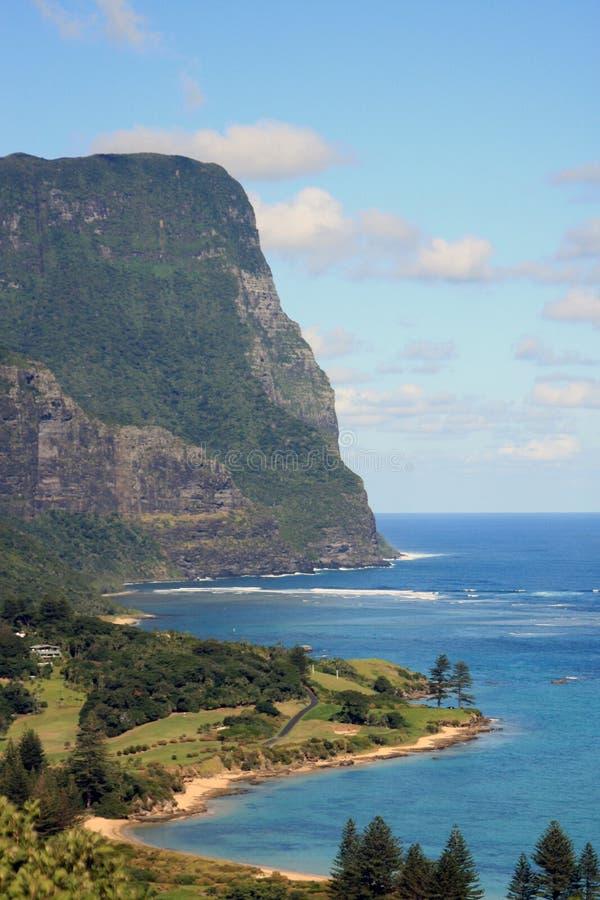 Lord Howe Ö fotografering för bildbyråer