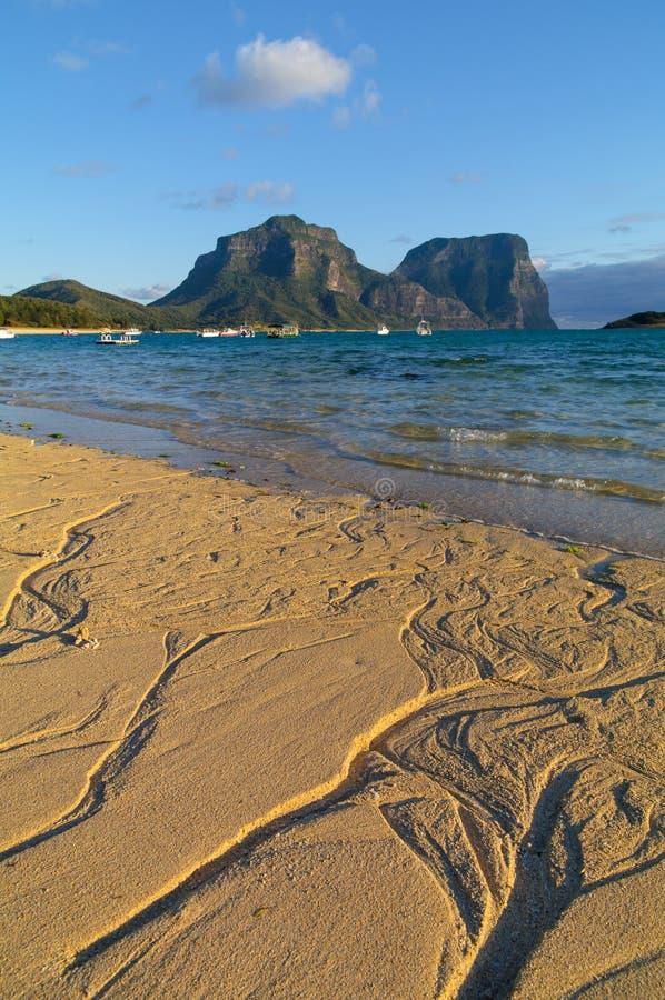 Lord Howe Island Lagoon royaltyfri bild