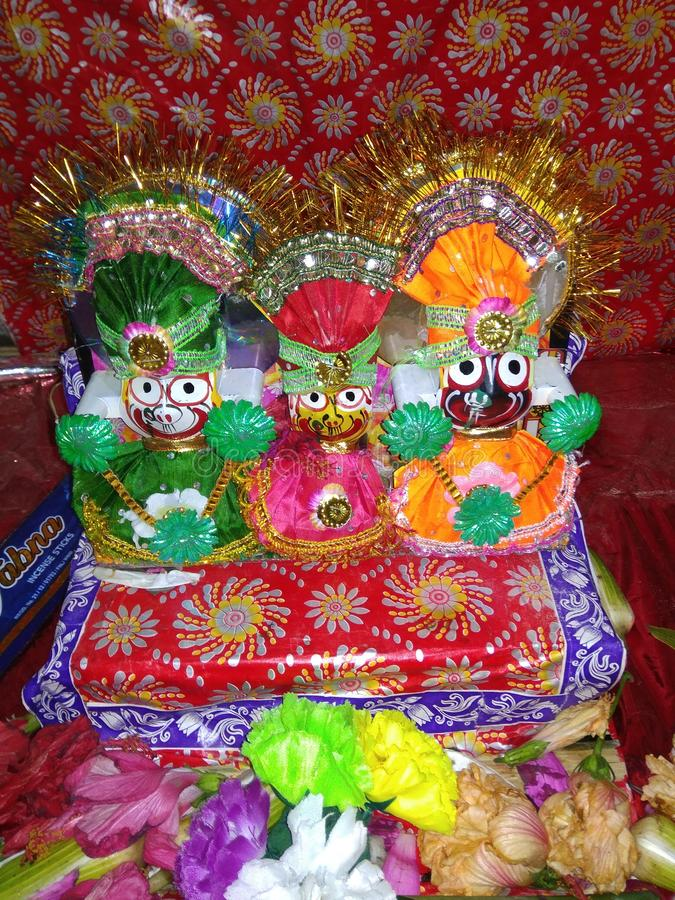 Lord Jagannath stock fotografie