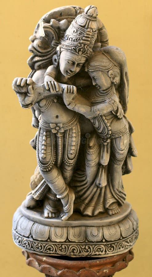 Lord Krishna royalty-vrije stock foto