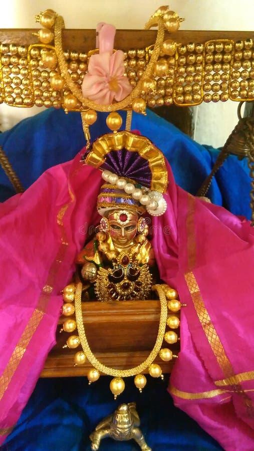 Lord Krishna stock afbeelding