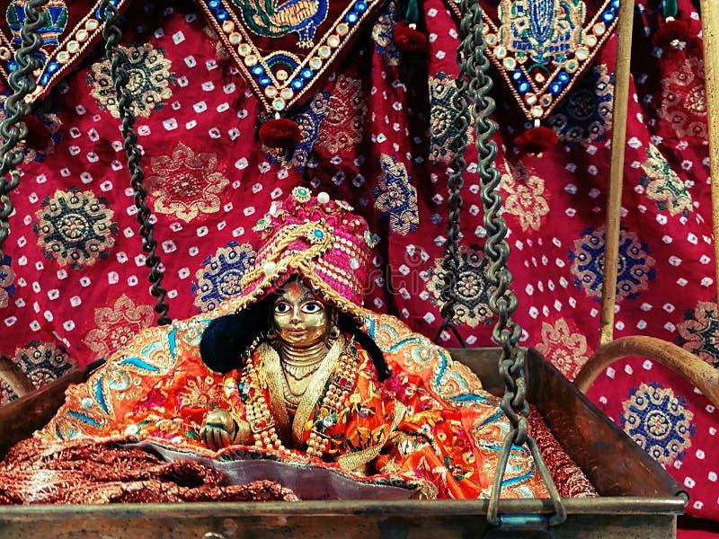 Lord Krishna in babystadium royalty-vrije stock fotografie