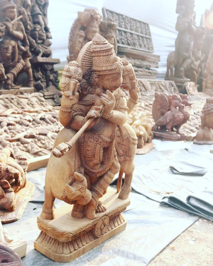Lord Krishna stock photography