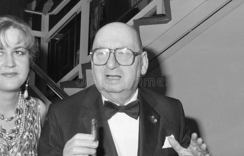 Lord Lew Grade stock foto