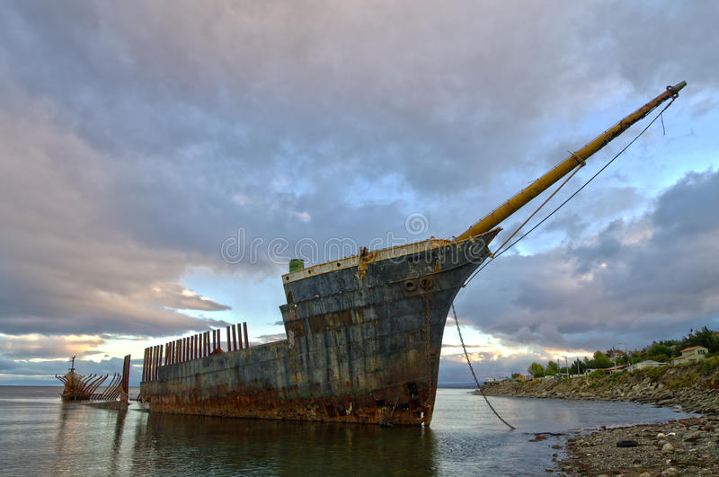 Lord Lonsdale Shipwreck imagens de stock royalty free