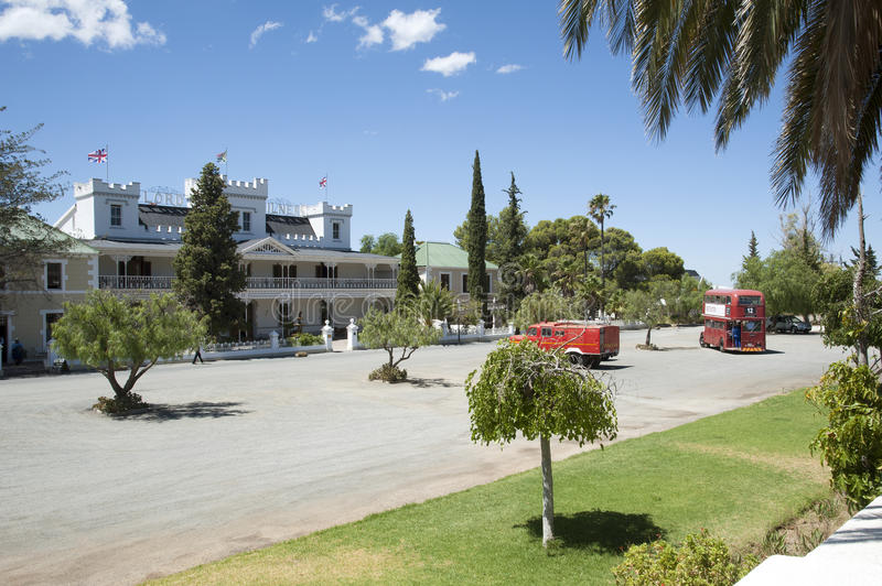 Lord Milner hotel at Matjiesfontein South Africa royalty free stock images