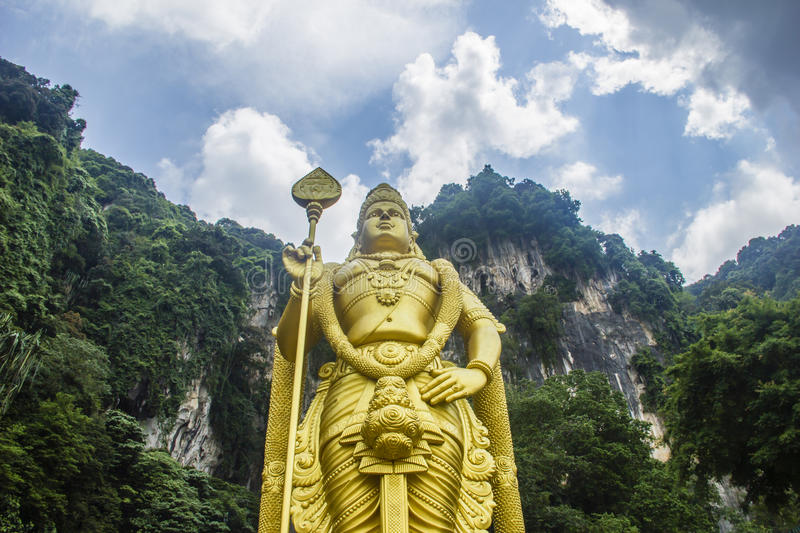 Download Lord Muruga statue stock photo. Image of lumpur, ethnicity - 24802912