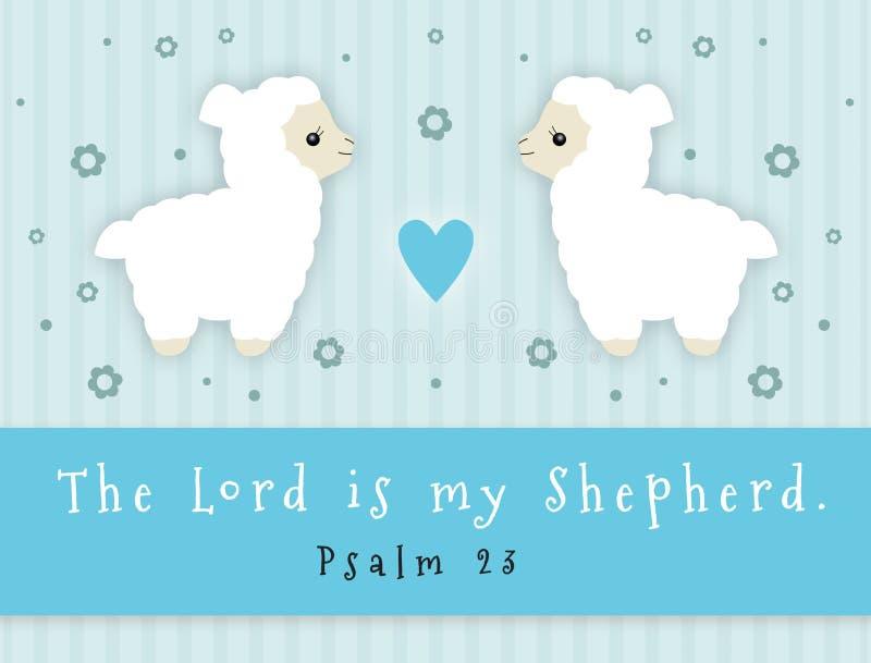 Lord Is My Shepherd vector illustratie