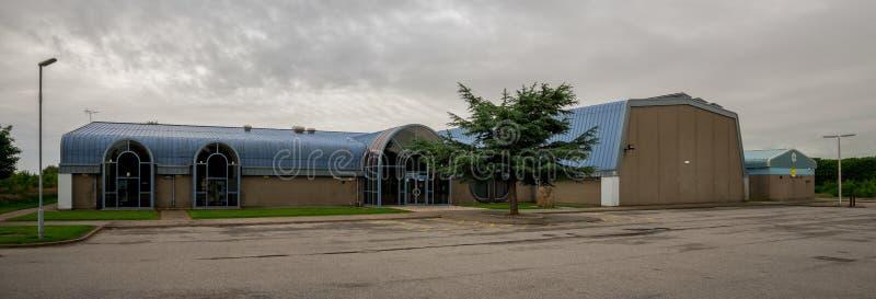 Lord Provost Alex Collie Sports-Centrum in Westfield-park in Aberdeen royalty-vrije stock foto's