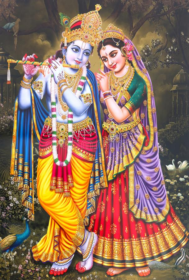 lord radha krishna beautiful wallpaper hindu god colorful background 163716977