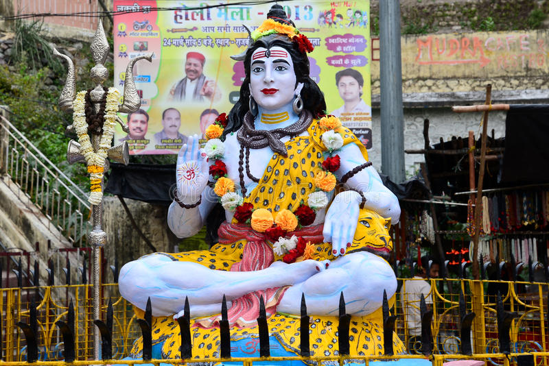 Lord Shiva royalty-vrije stock foto