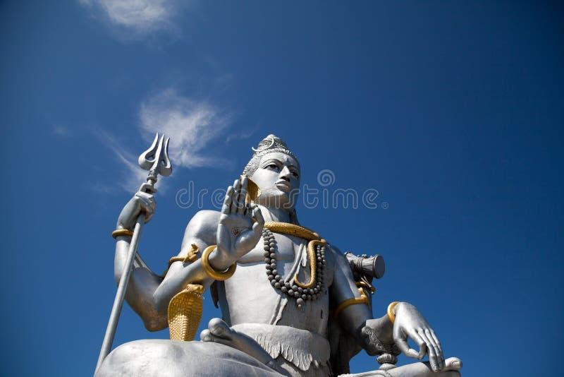 Lord Shiva idol. Huge idol of Lord Shiva, in the Hindu temple in Murudeshwar, Karnataka India royalty free stock photo
