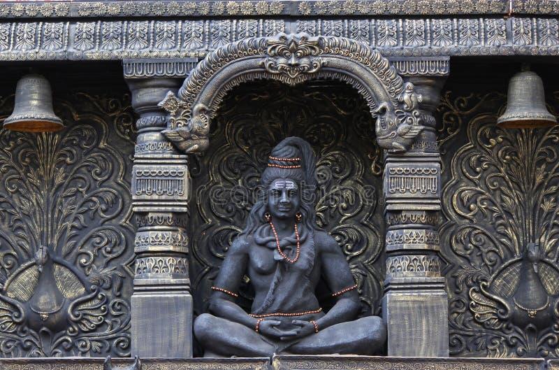 Lord Shiva-Statue, Sadashiv-peth, Pune, Maharashtra lizenzfreie stockfotos