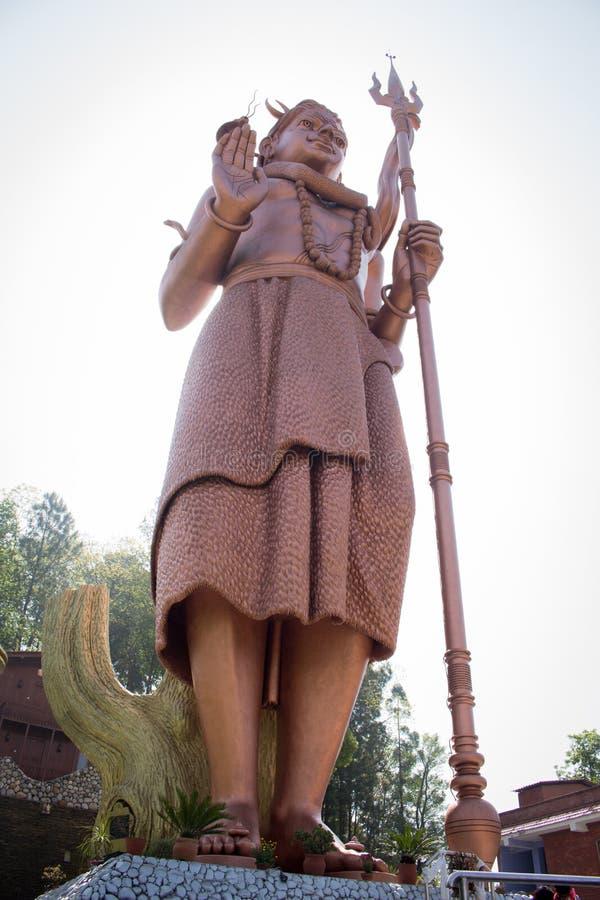 Lord Shiva Tallest Statue av världen royaltyfria bilder