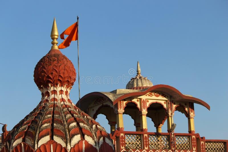 Lord Shiva-Tempelhaube, Parvati, Pune, Maharashtra lizenzfreies stockfoto